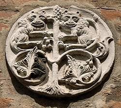 external sculpture Calle drio al Magazen Venice
