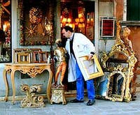 Alberto Cavalier, Gilder in Venice Italy
