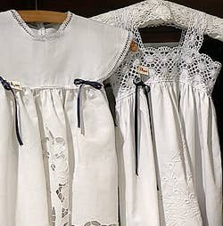 Annelie lace burano dresses Venice Italy