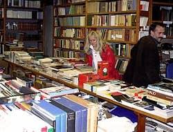 The Bertoni bookshop in Venice