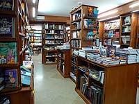 The Studium bookshop in Venice Italy
