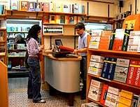 The Toletta bookshop in Venice Italy