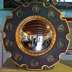 Arnolfi Couple Convex Mirror by Jan Van Eyck