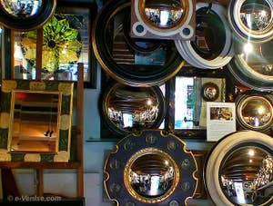 Witch Mirrors or Bankers' Mirror from Canestrelli in Venice