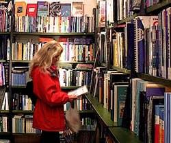 Mare di Carta bookshop in Venice Italy