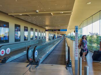 From Airport Arrival Lounge to Water-Taxis and Alilaguna boats at Marco Polo Venice airport
