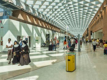 Venice Marco Polo Airport hall
