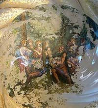 Murano Glass Detail of a magnificently decorated dish